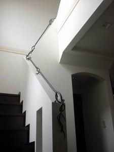 ロートアイアン 階段手すり